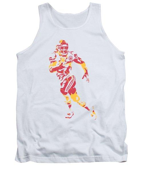 Kareem Hunt Kansas City Chiefs Apparel T Shirt Pixel Art 1 Tank Top