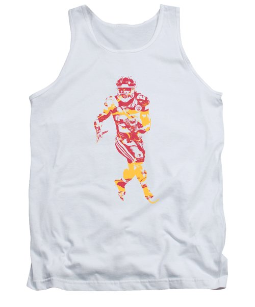 Kareem Hunt Kansas City Chiefs Apparel T Shirt Pixel Art 2 Tank Top