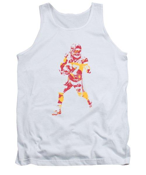 Kareem Hunt Kansas City Chiefs Apparel T Shirt Pixel Art 3 Tank Top