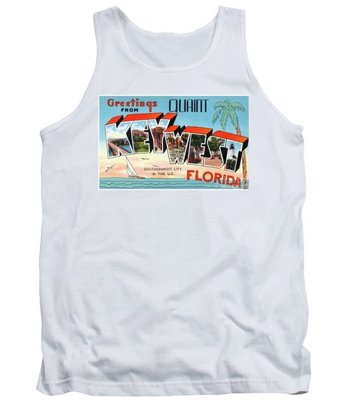 Key West Greetings Tank Top