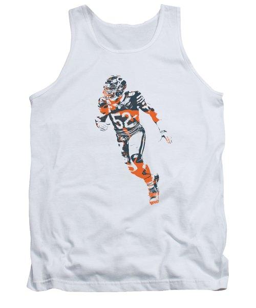 Khalil Mack Chicago Bears Apparel T Shirt Pixel Art 2 Tank Top