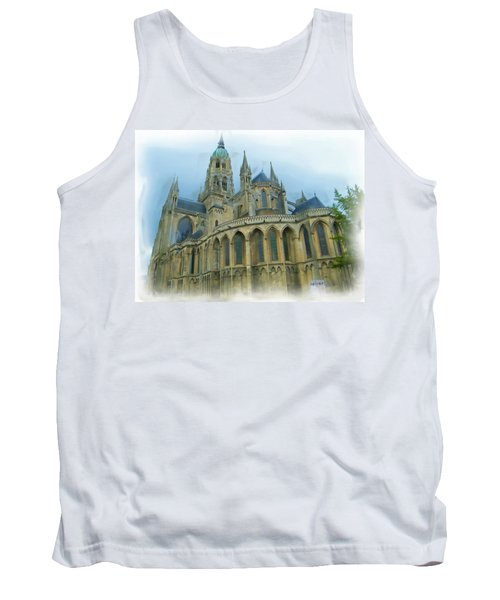 La Cathedrale De Bayeux Tank Top