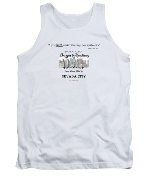 Laughter Is The Best Medicine - Apothecary Tank Top
