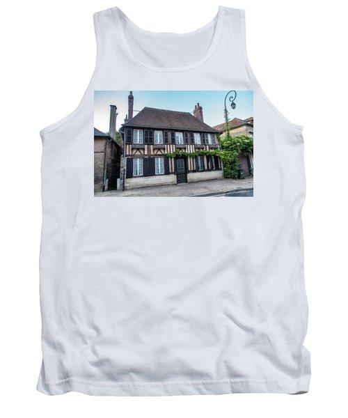 Tank Top featuring the photograph Le Vieux Logis D'acquigny by Randy Scherkenbach