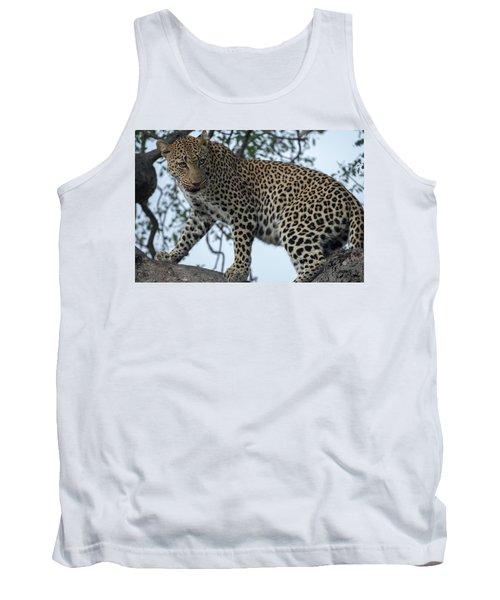 Leopard Anticipation Tank Top