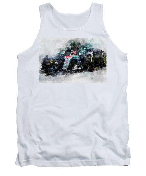 Lewis Hamilton, Mercedes Amg F1 W09 - 10 Tank Top