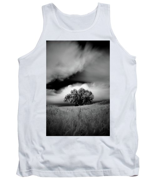 Lone Tree On A Hill Tank Top