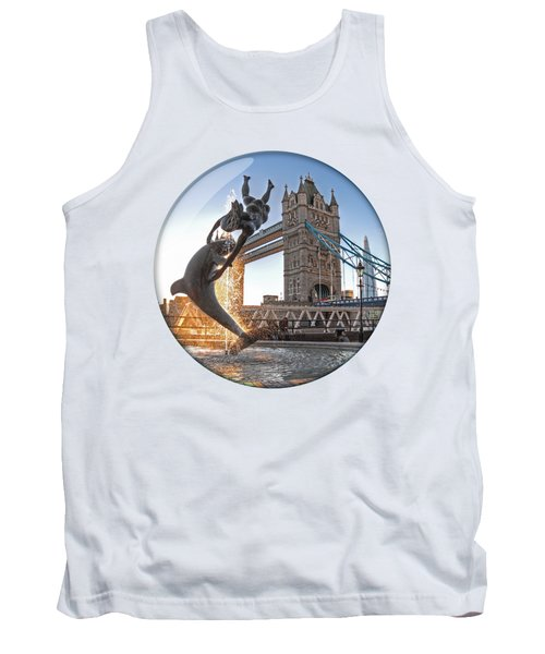 Lost In A Daydream - Floating On The Thames Tank Top