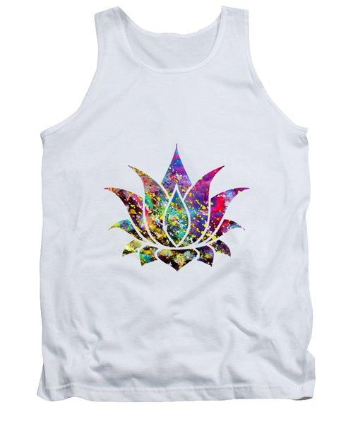 Lotus-colorful Tank Top