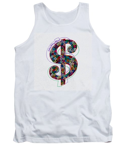 Louis Vuitton Dollar Sign-1 Tank Top