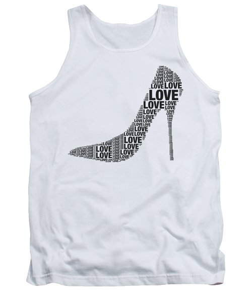 Love In High Heels Tank Top