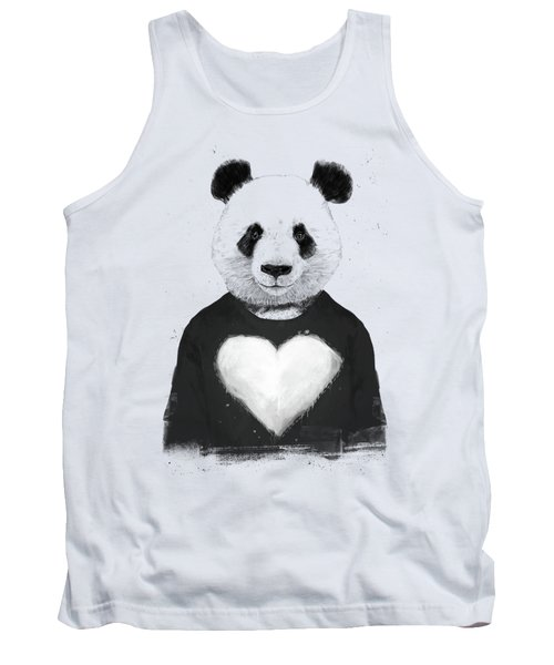 Lovely Panda  Tank Top