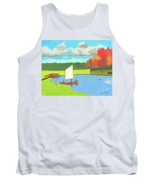 Testing The Waters Tank Top