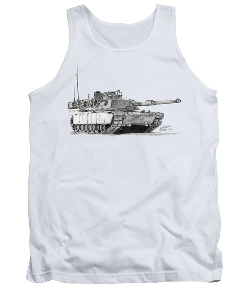 M1a1 A Company 2nd Platoon Commander Tank Top