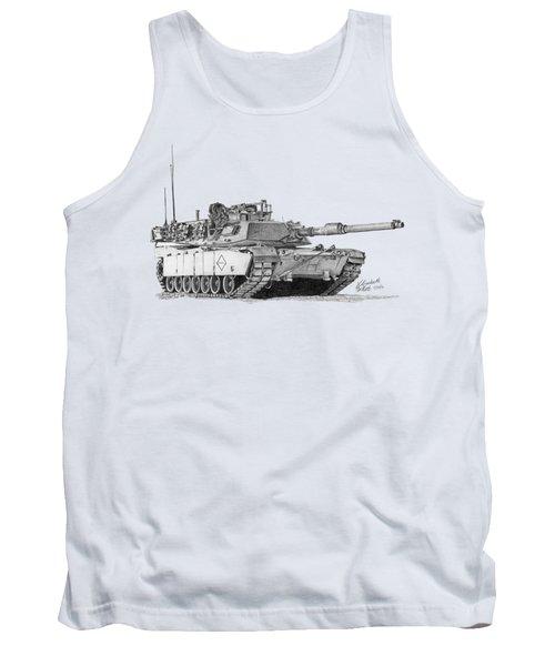 M1a1 Battalion Master Gunner Tank Tank Top