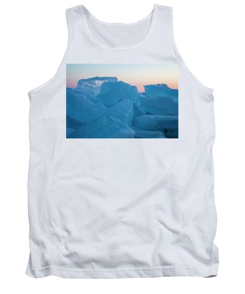 Mackinaw City Ice Formations 2161804 Tank Top