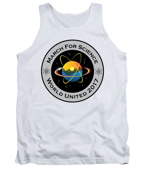 March For Science Astronaut Tank Top