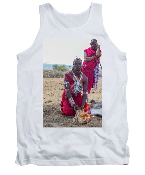 Maasai Warrior Tank Top