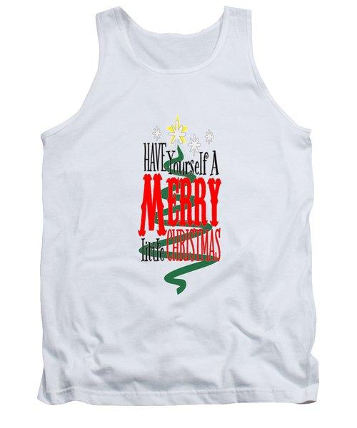 Merry Little Christmas Tank Top