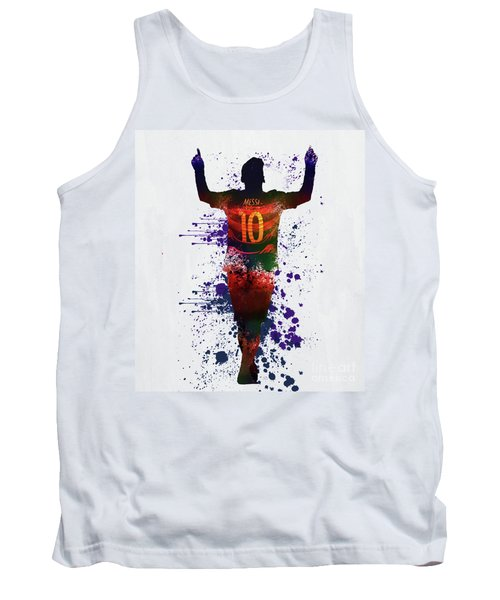Messi Barcelona Tank Top
