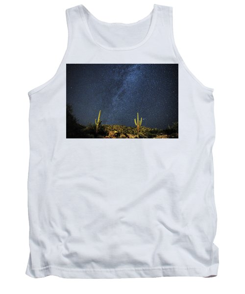 Milky Way And Cactus Tank Top