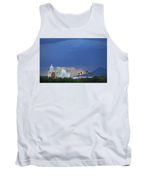 Monsoon Skies Over The Mission Tank Top