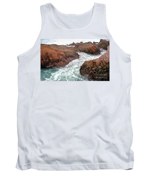 Montana Jagged Rocks Tank Top