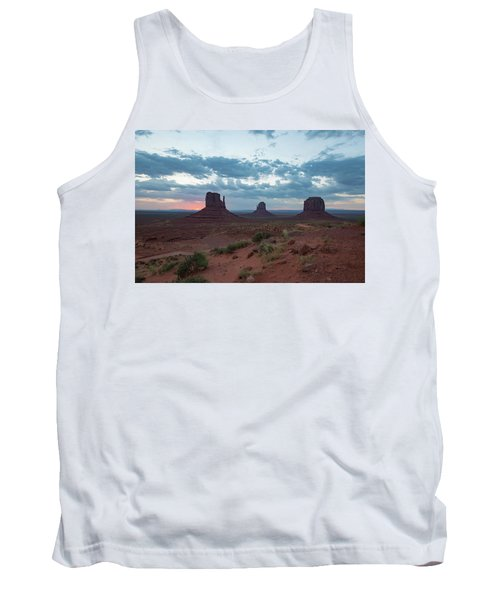 Monument Valley Before Sunrise Tank Top