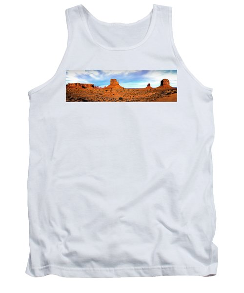 Tank Top featuring the photograph Monument Valley by David Morefield