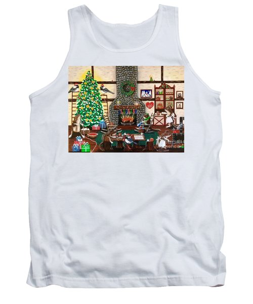 Ms. Elizabeth's Holiday Home Tank Top
