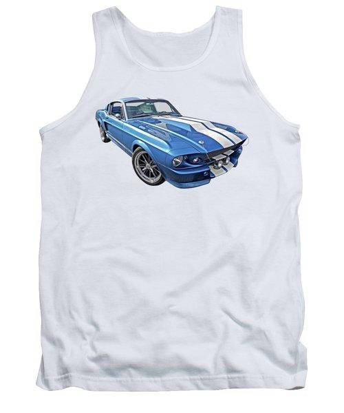 Mustang Blues - 1967 Eleanor Gt 500 Tank Top
