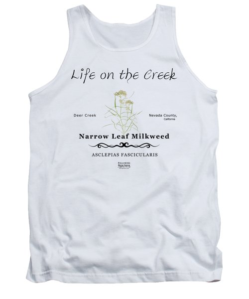 Narrow Leaf Milkweed Tank Top