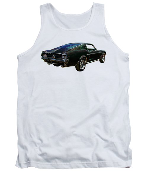 Neon Mustang Fastback 1967 Tank Top