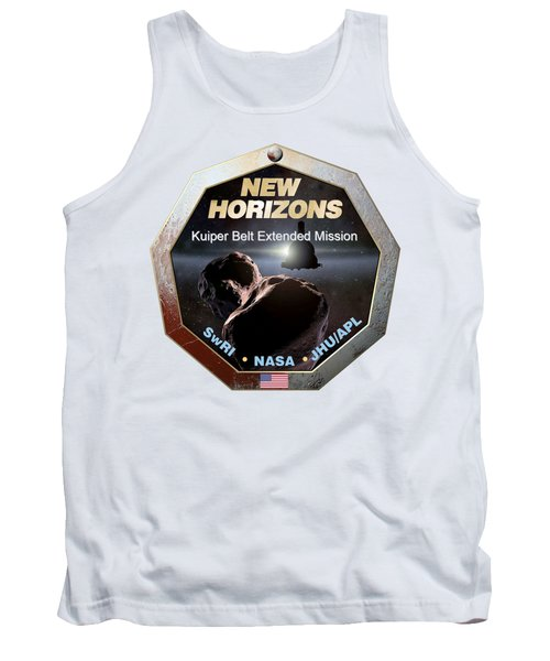 New Horizons Extended Mission Logo Tank Top