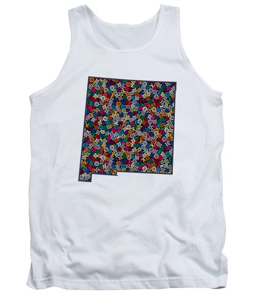 New Mexico Map - 1 Tank Top
