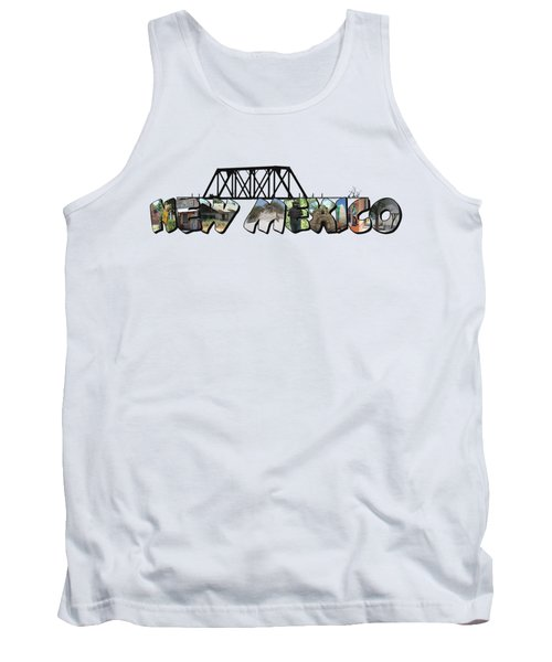 New Mexico Big Letter Tank Top