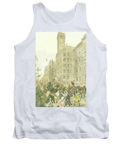 New Years Mummers On Chestnut Street Tank Top
