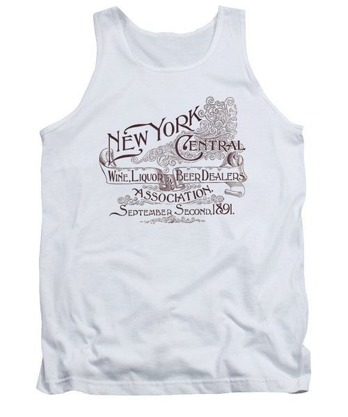New York Liquor Dealers Association 1891 - T-shirt Tank Top