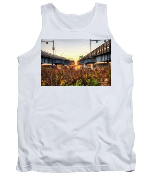 North Grand Island Bridges Tank Top