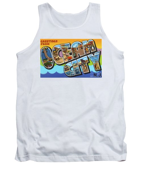 Ocean City Greetings Tank Top