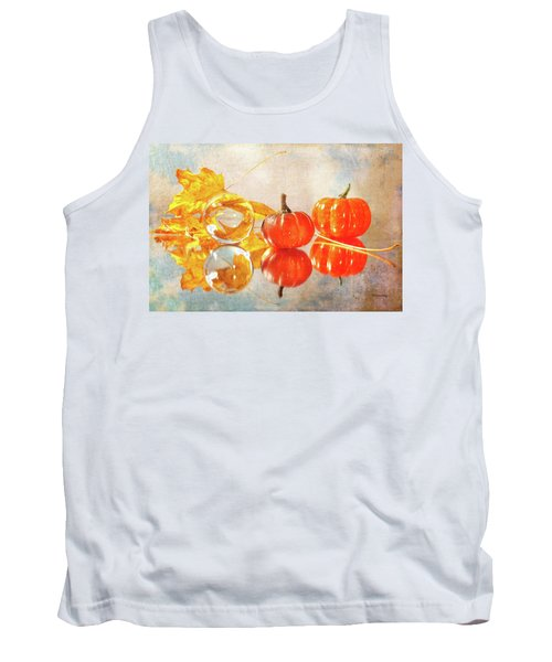 Tank Top featuring the photograph October Reflections by Randi Grace Nilsberg