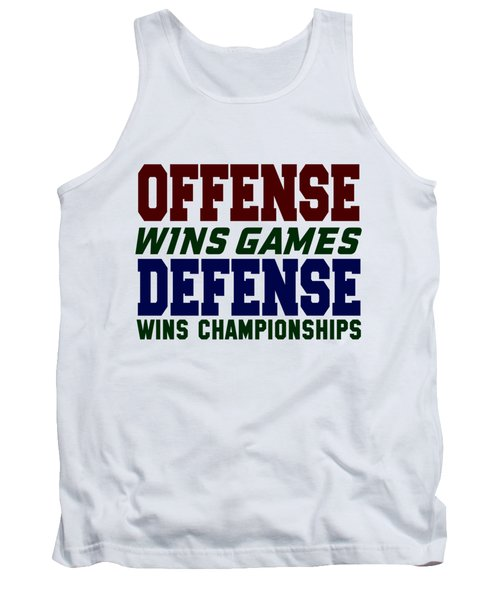 Offence Defense Tank Top