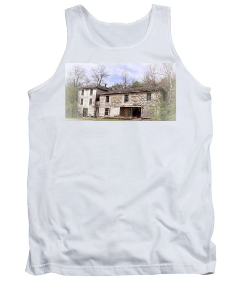Old Abandoned House In Fluvanna County Virginia Tank Top