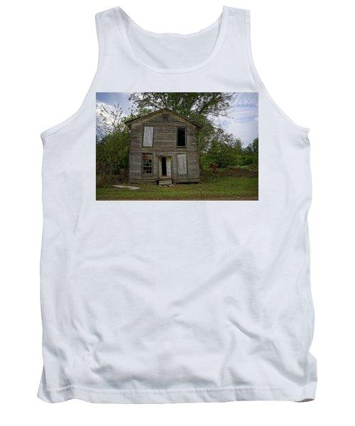 Old Masonic Lodge In Ruins Tank Top