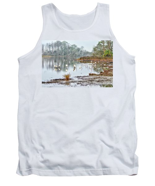 Old Rice Pond Tank Top