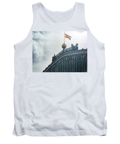 On Top Of The Puerta De Atocha Railway Station Tank Top