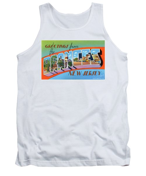 Oranges Greetings Tank Top