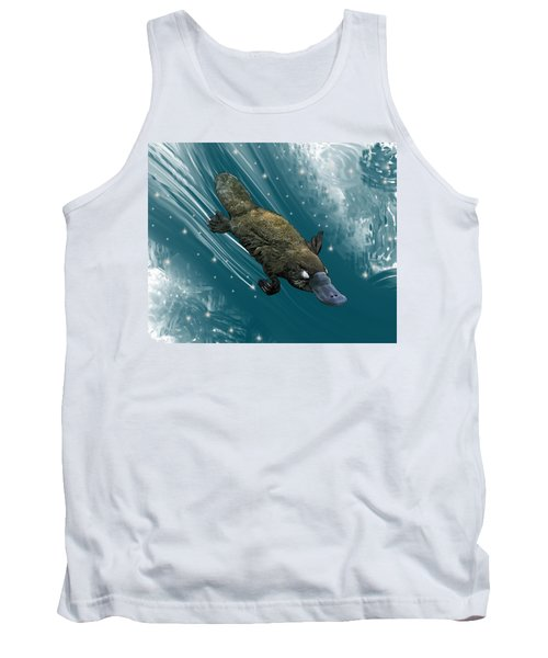 P Is For Platypus Tank Top