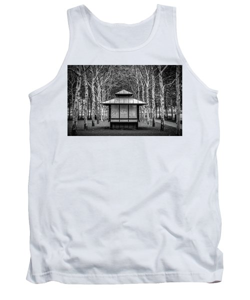 Tank Top featuring the photograph Pagoda by Steve Stanger
