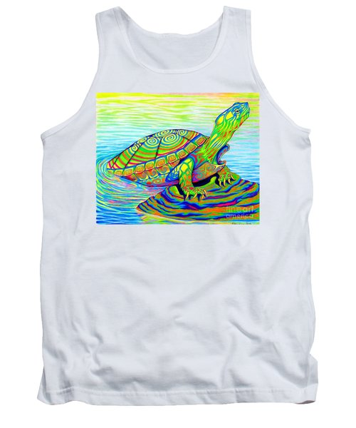 Painted Turtle Tank Top